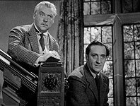 Rathbone and Bruce as Holmes and Watson